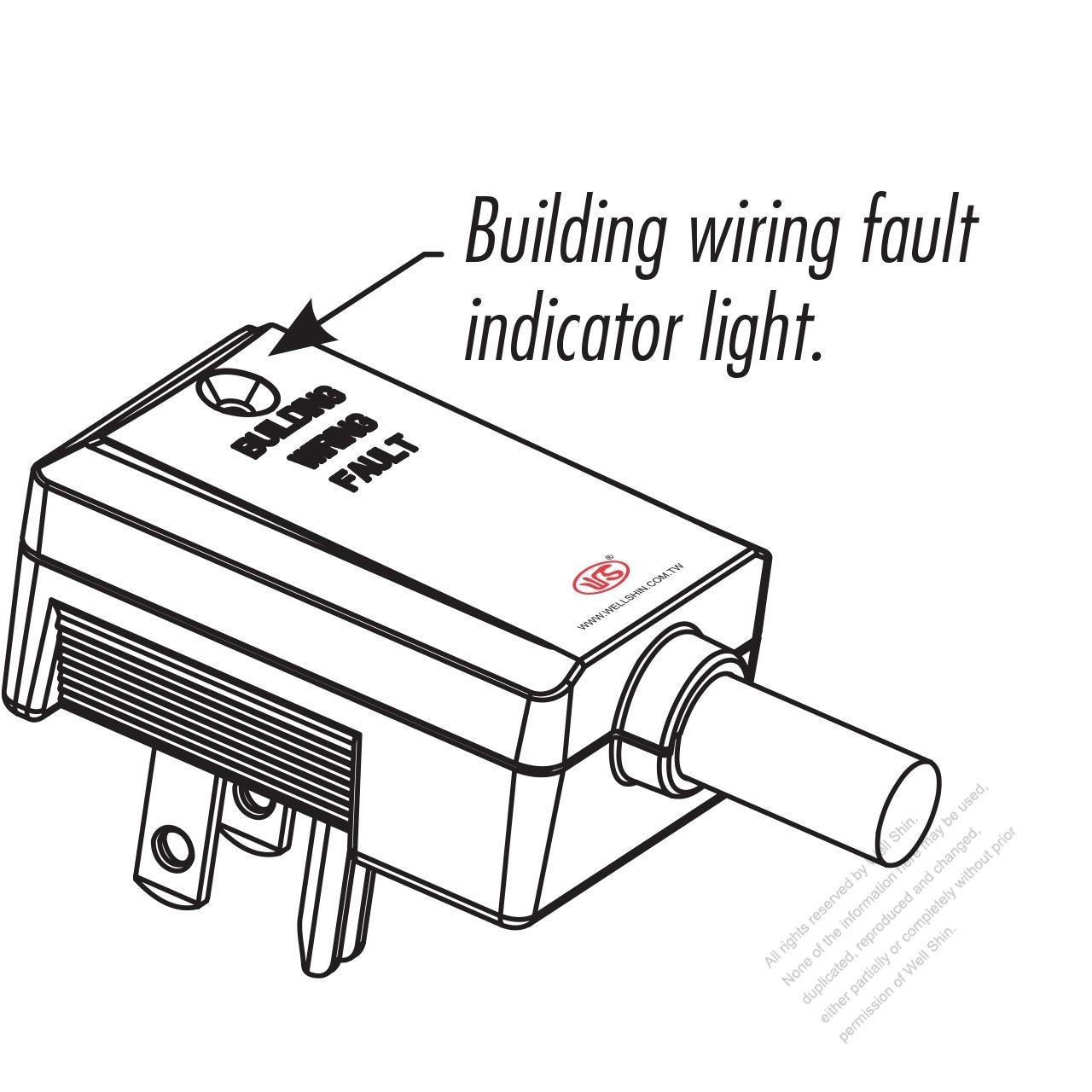 Taiwan Japan 3 Pin Elbow Ac Plug 15a 125v Well Shin Technology Wiring