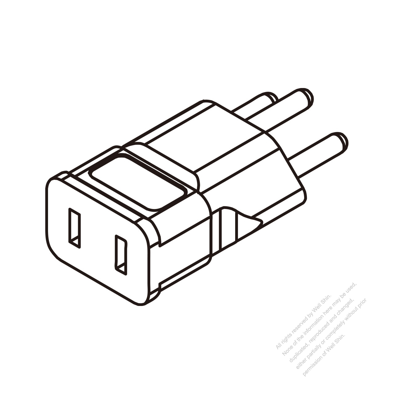 switzerland adapter plug to nema 1