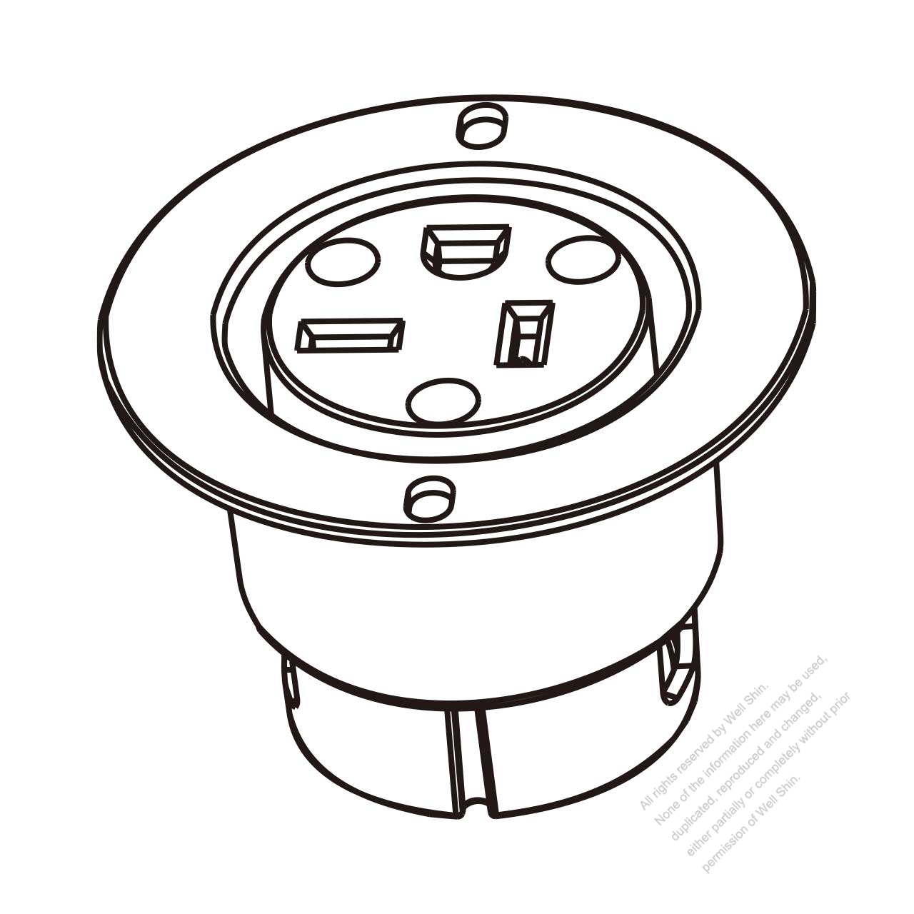 B2628156ac7dbc11962FKL receptacle wiring diagram on 6 20r wiring