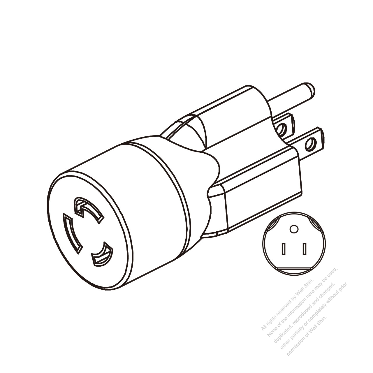 nema 5 15r wiring diagram nema wiring diagram exles