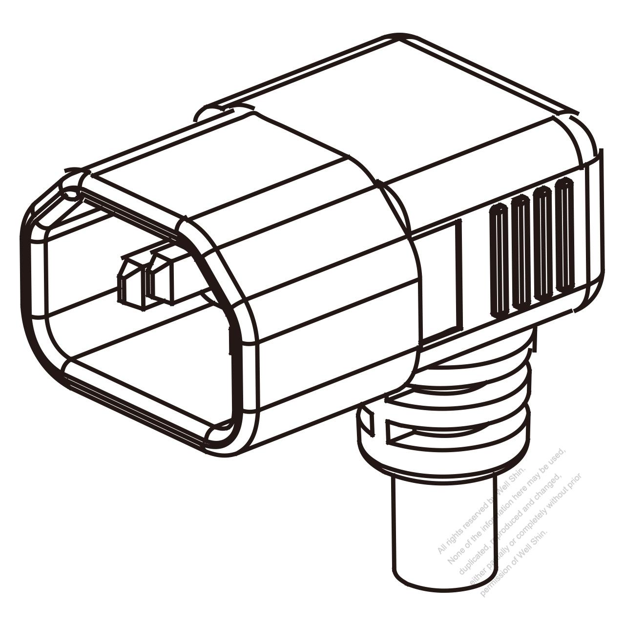 uk iec 320 sheet e  c14  plug connectors 3