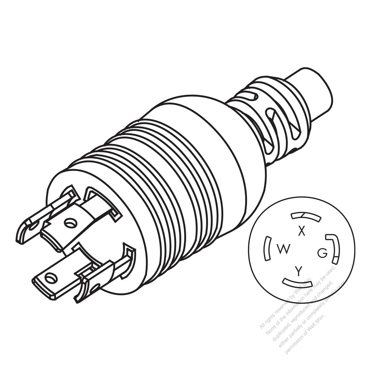 nema l6 wiring diagram hubbell twist lock wiring diagram v