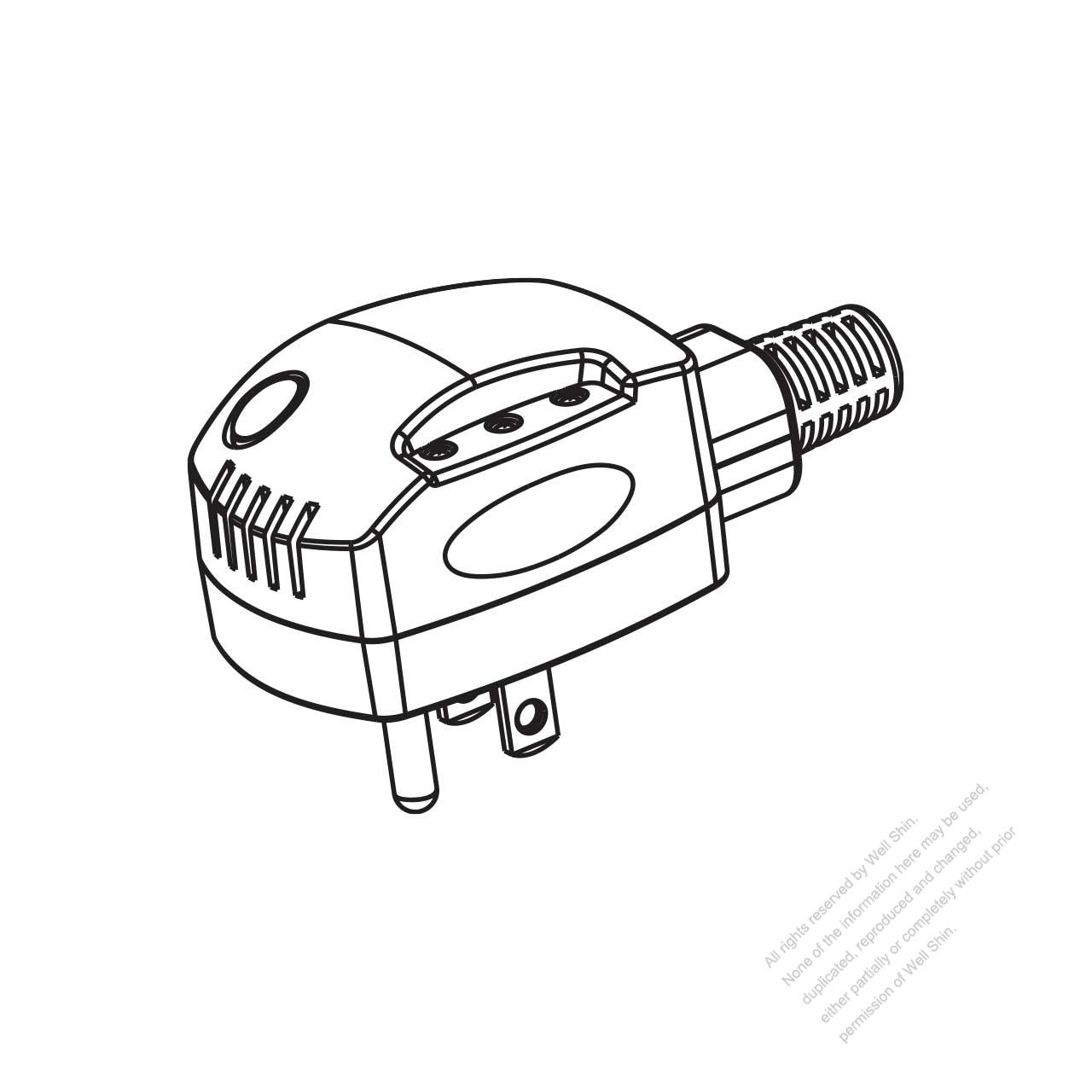 usa  canada nema 5  3 wire grounding 15a 125v  temperature control delay