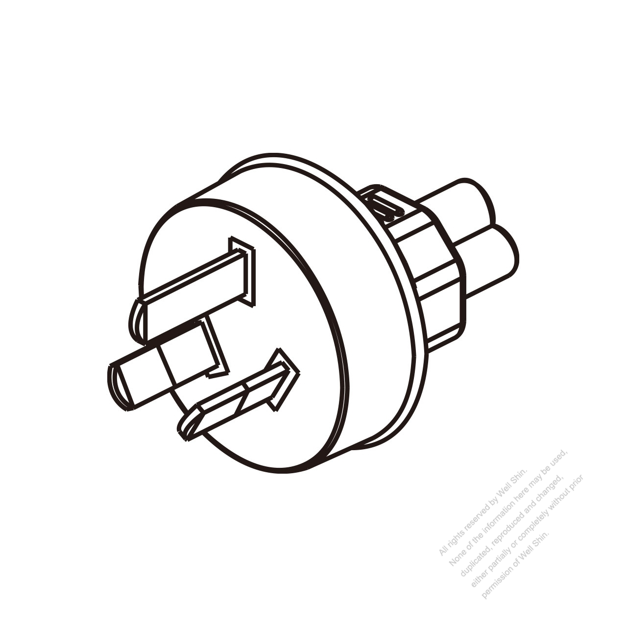 Adapter Plug Australian To Iec 320 C5 Female Connector 3 Wiring Diagram For Pin
