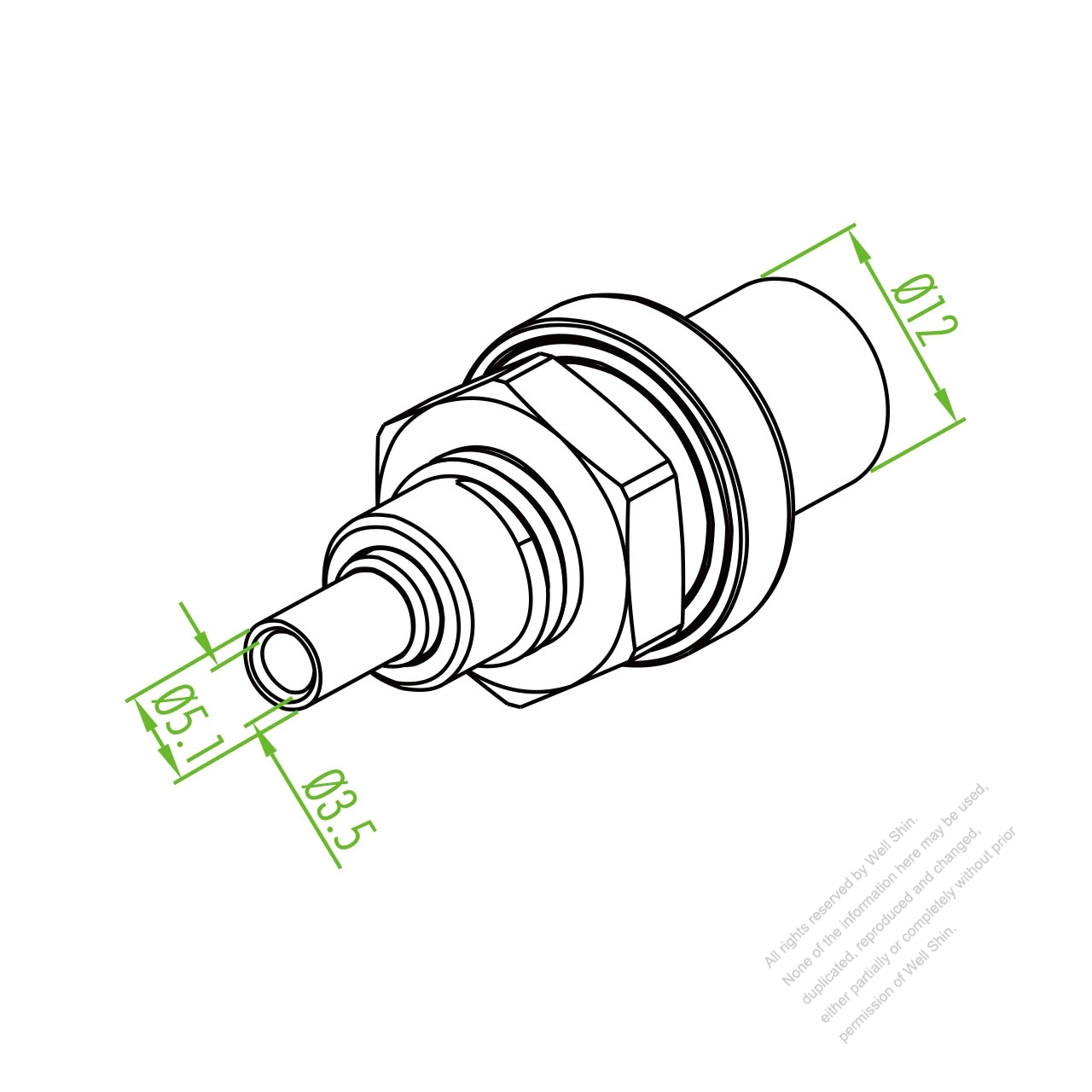 Pv Solar Panel Input Output Round Plug Watertight Ip 67 250v Extension Cord 20a Wiring Diagram