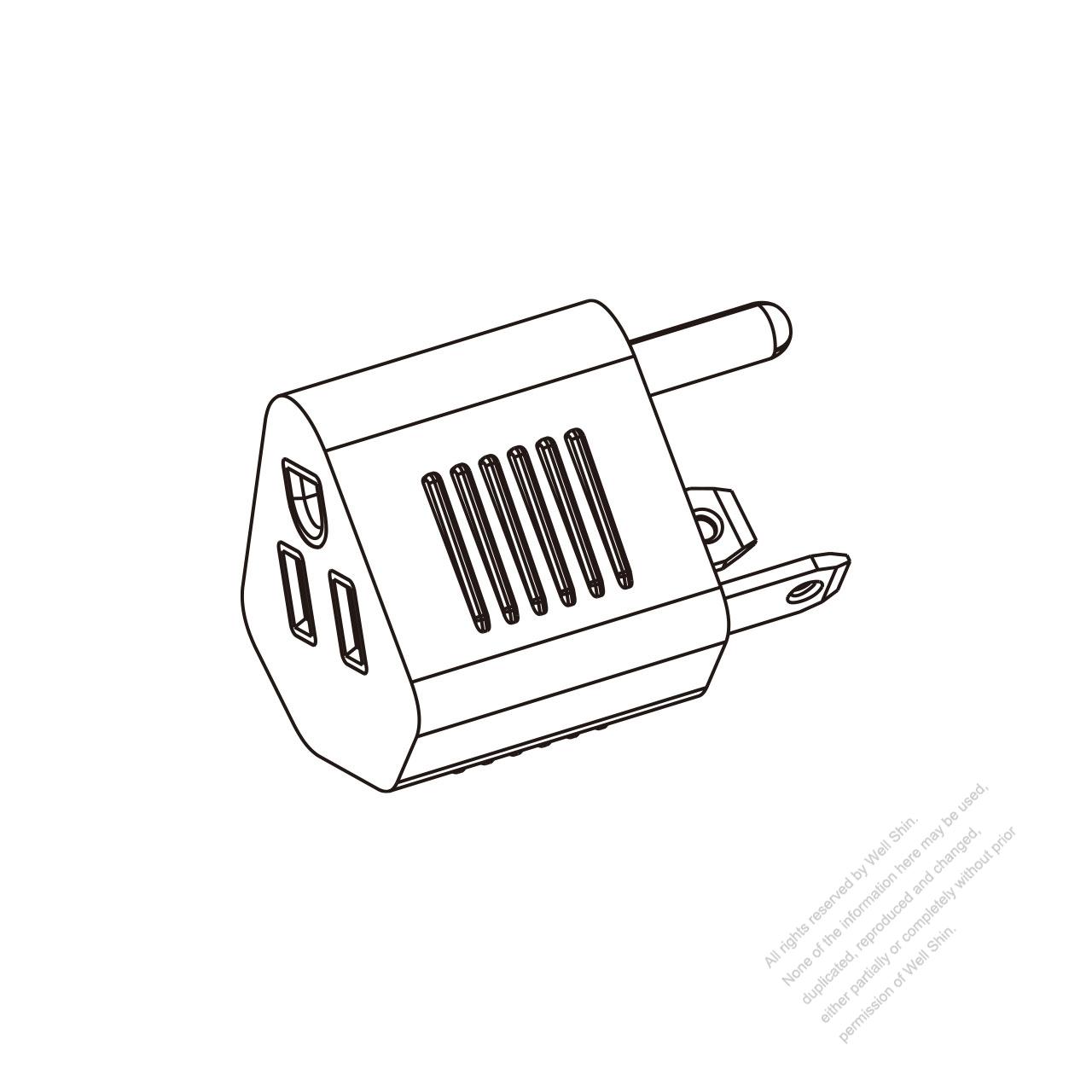 rv adapter plug  nema tt