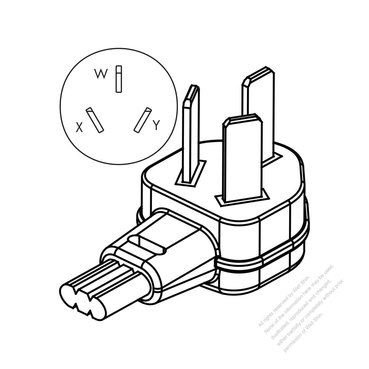 usa  canada nema10  3 wire non
