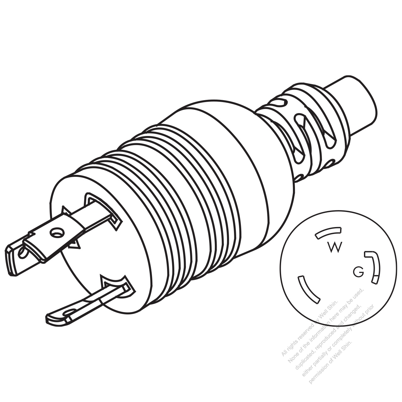 125v plug wiring diagram