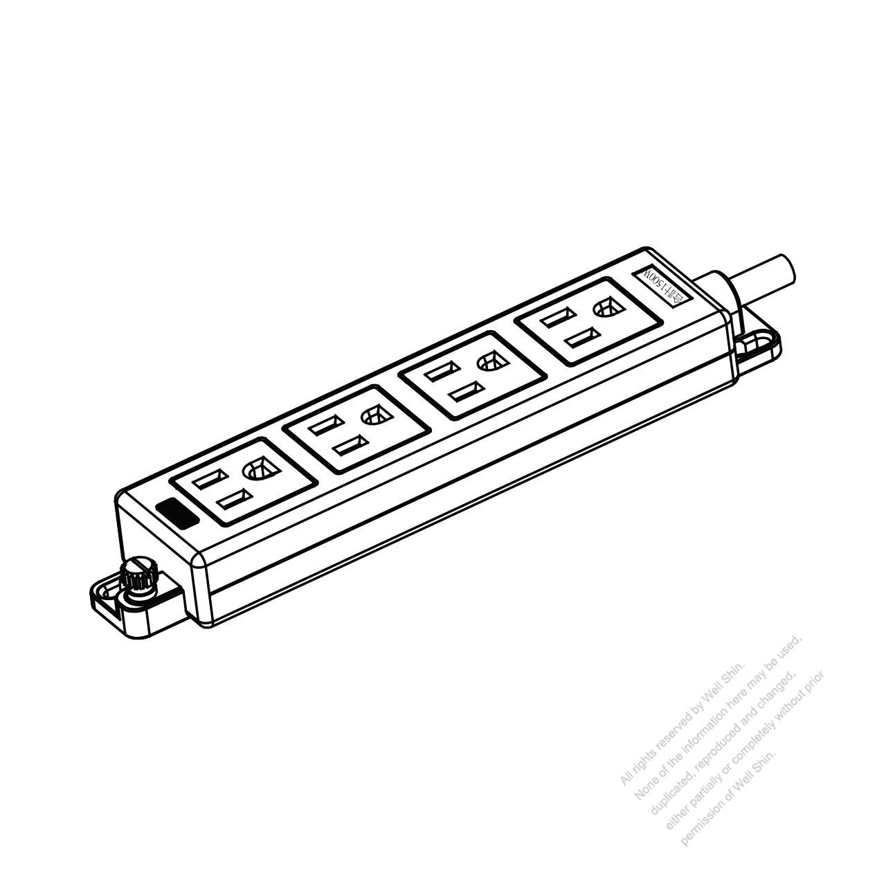 japanese type power strip 3