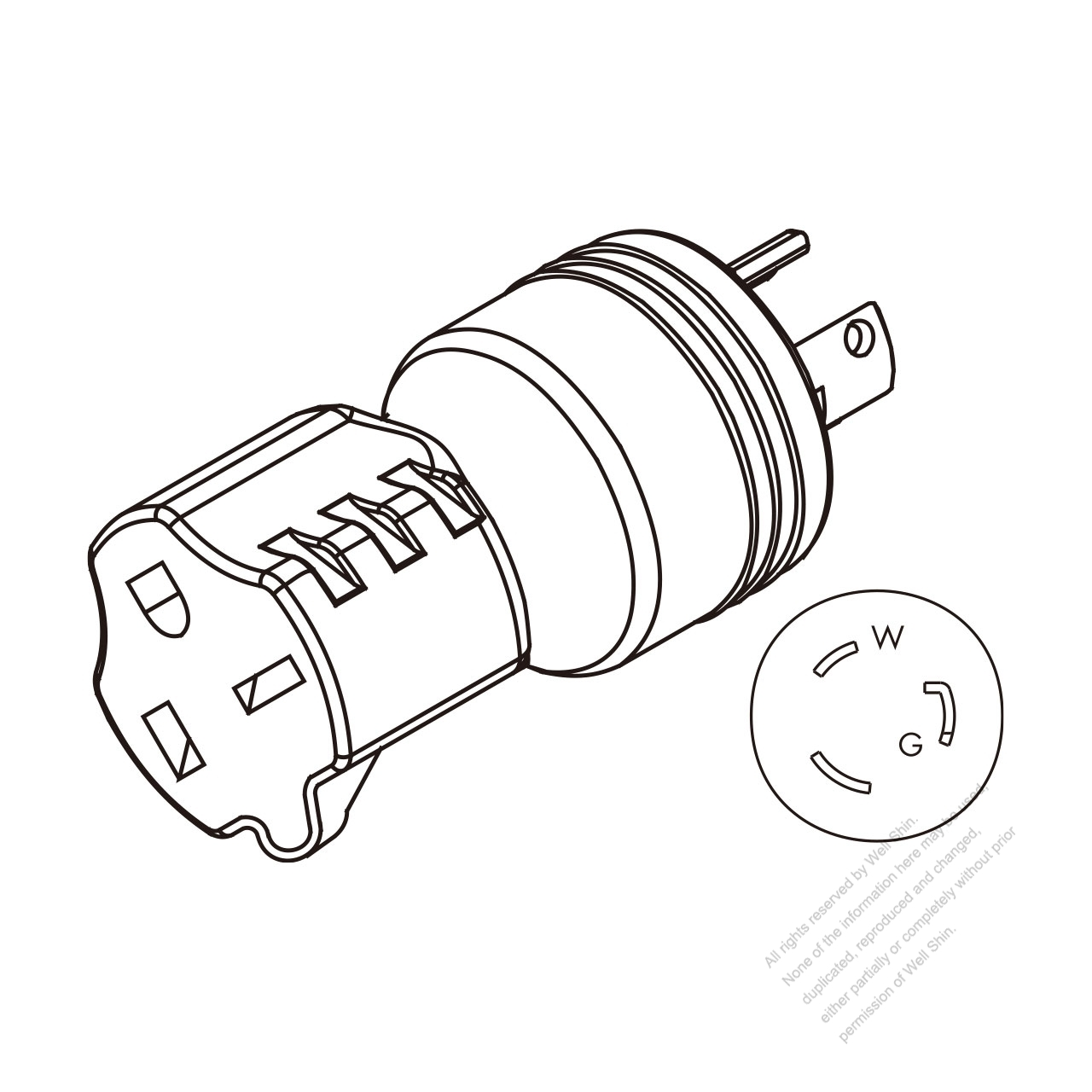50   Rv Wiring Diagram Power furthermore All Power 3500 Watt Generator Wiring Diagram as well Escort Wiring Diagram Pdf 2 in addition L6 30r Receptacle Wiring Diagram moreover 480v To 240v Plug Ground Transformer Wiring Diagram. on l14 30p