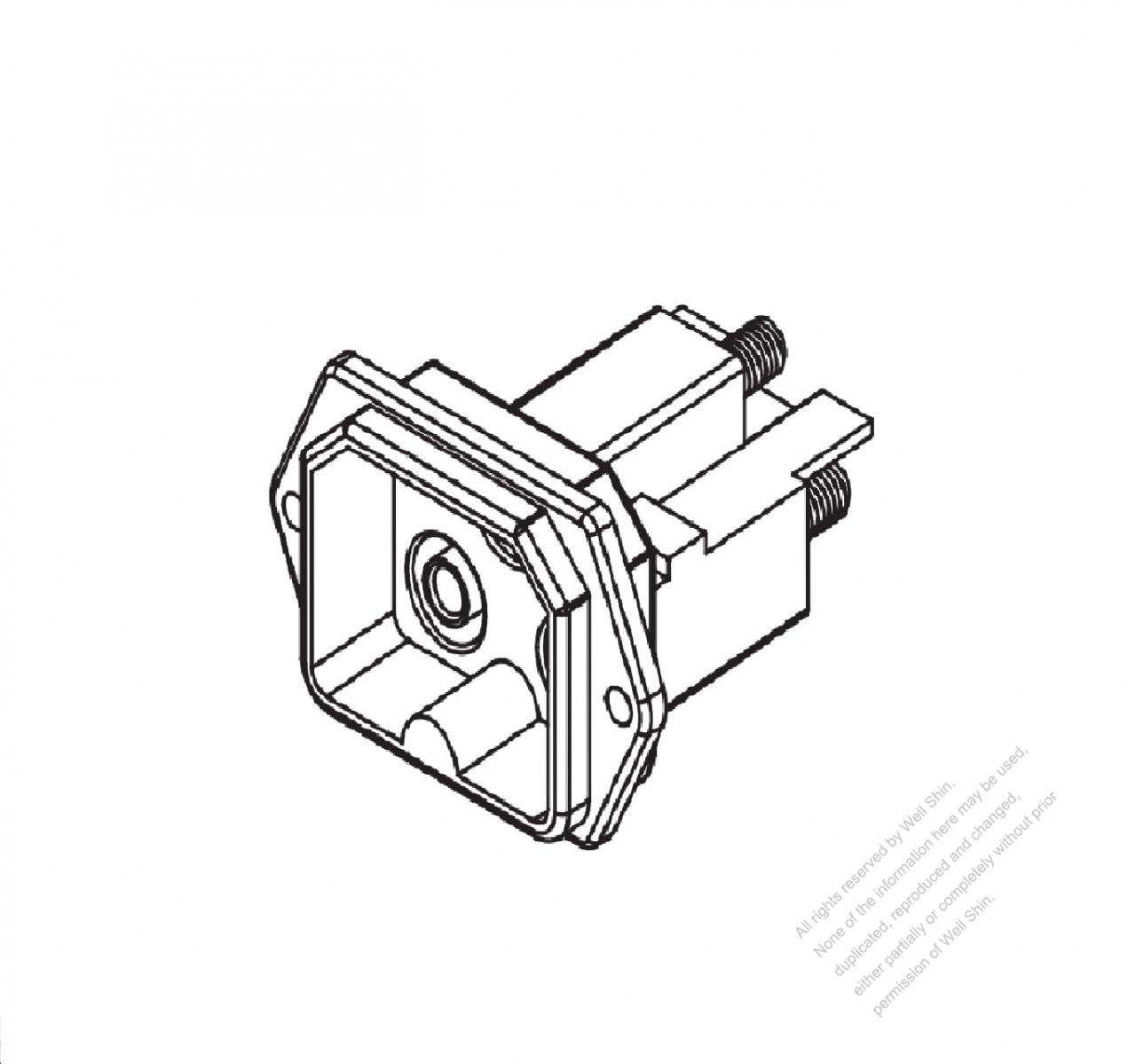 25a 3 Pin Outlet Well Shin Technology Co Ltd