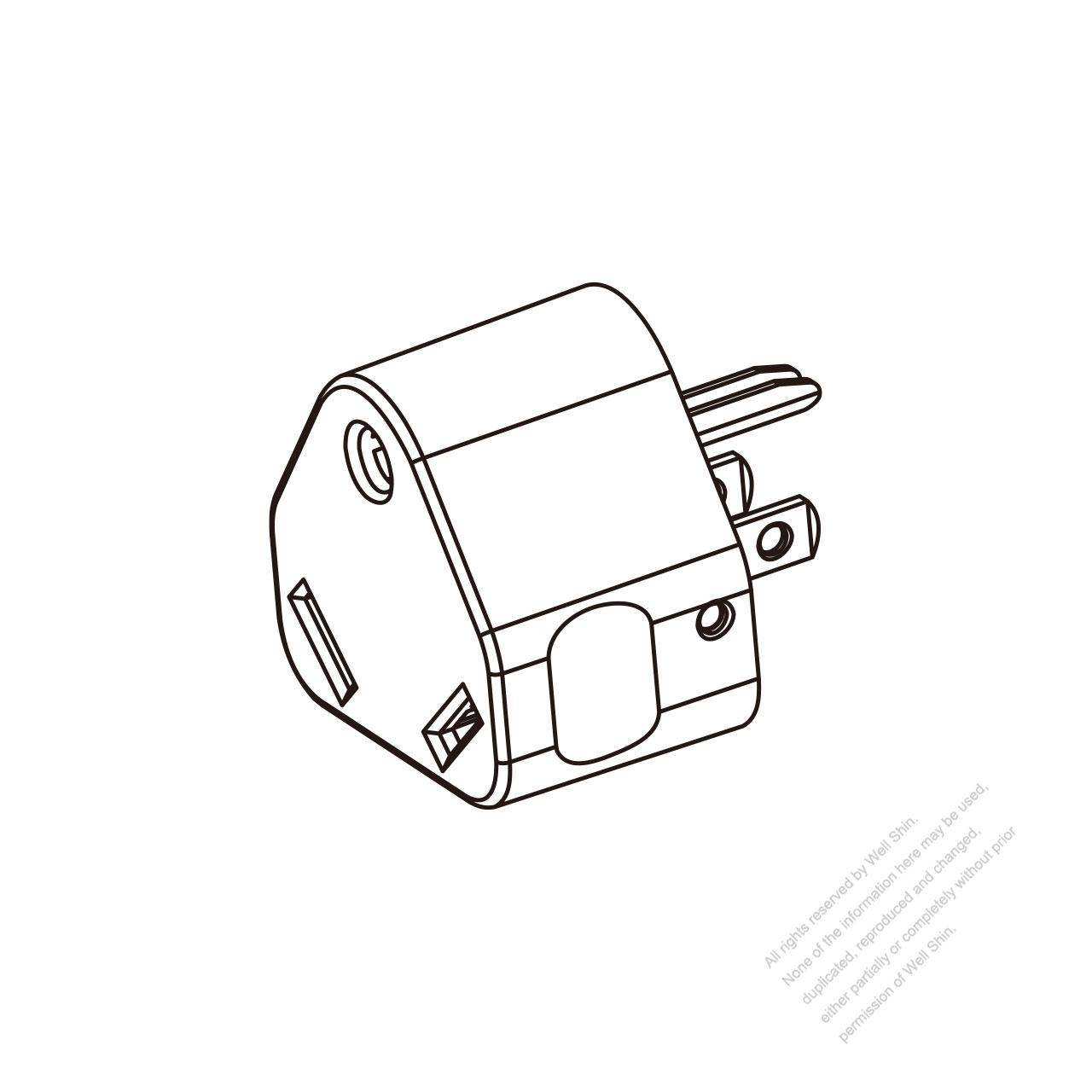 rv adapter plug  nema 5
