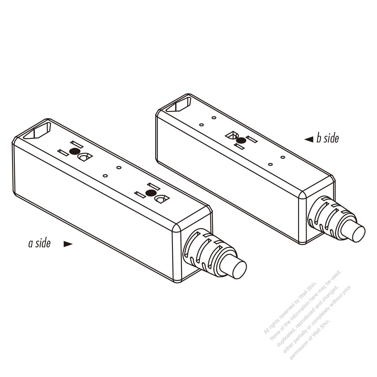 usa  canada power strip 3
