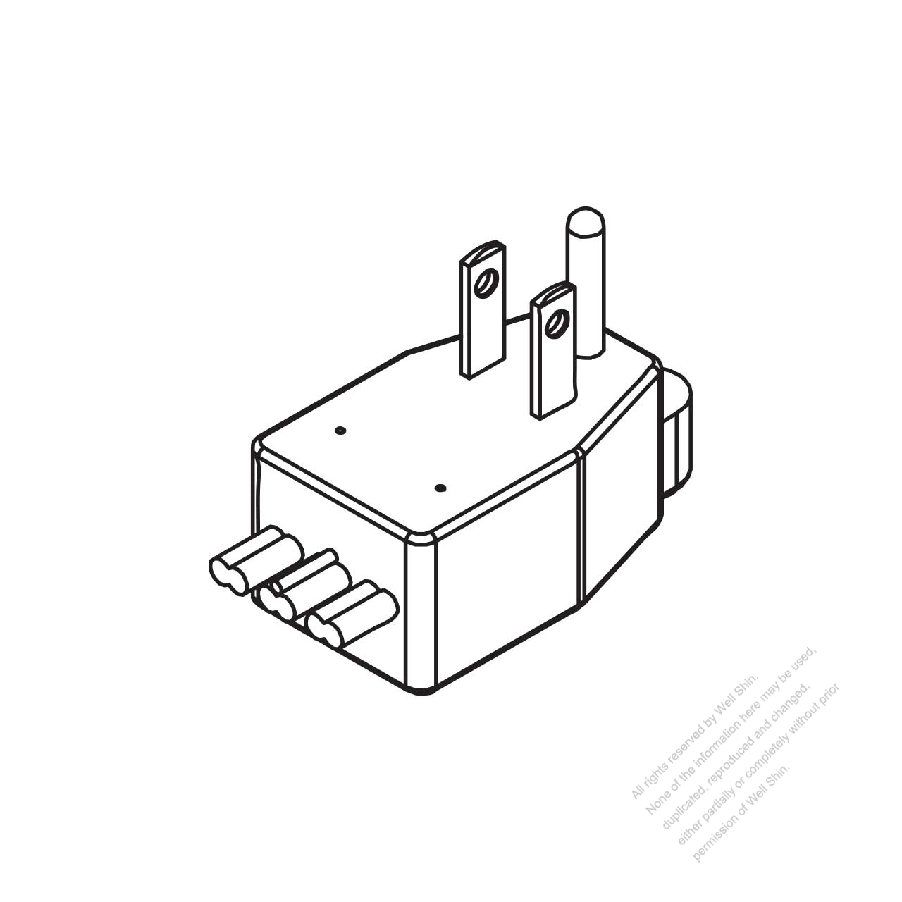 usa canada nema 5 15p elbow ac plug 2 p 3 wire grounding 15a 125v 250 Volt Plug Wiring usa canada nema 5 15p elbow ac plug 2 p 3 wire