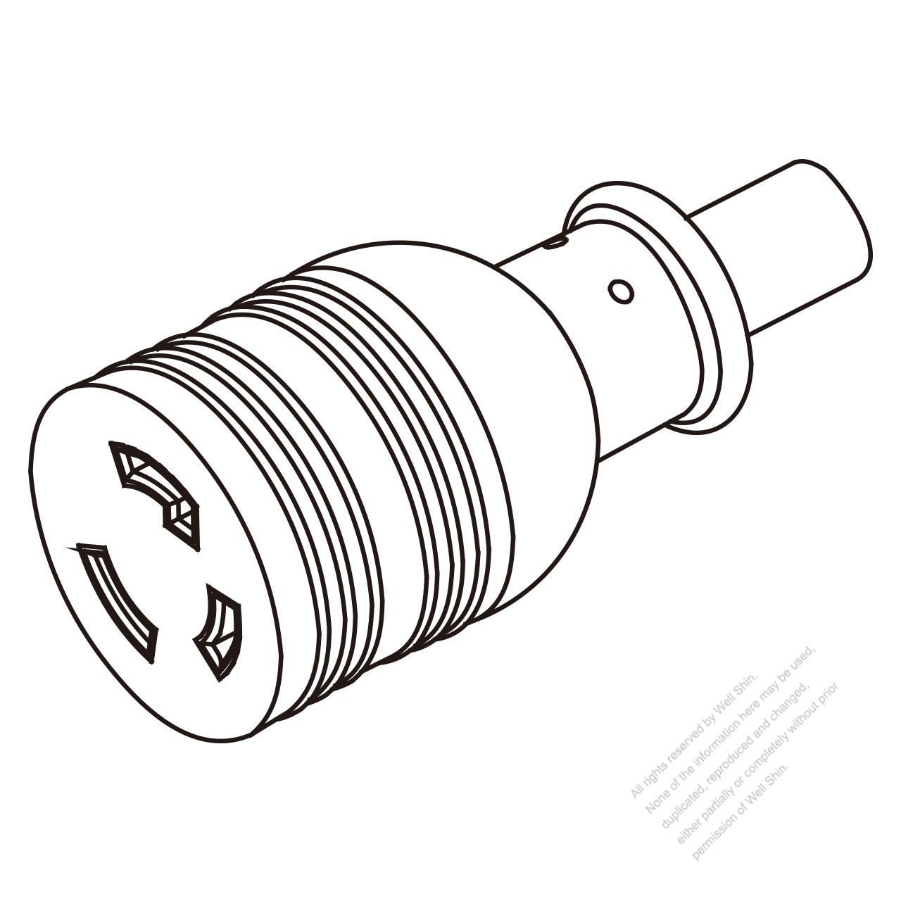 l5 30r wiring diagram database Nema 5 -30 usa canada twist locking l5 30r 2 p 3 wire grounding 30a 125v l5 30r male l5 30r