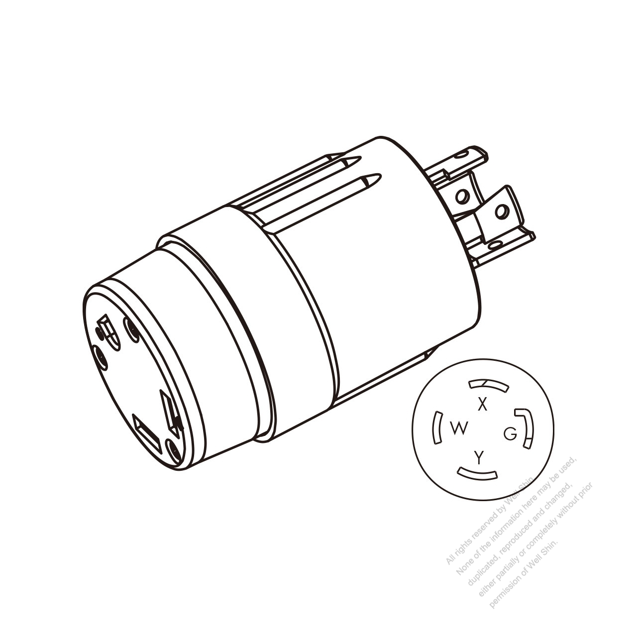 Pin Nema Plug Diagram