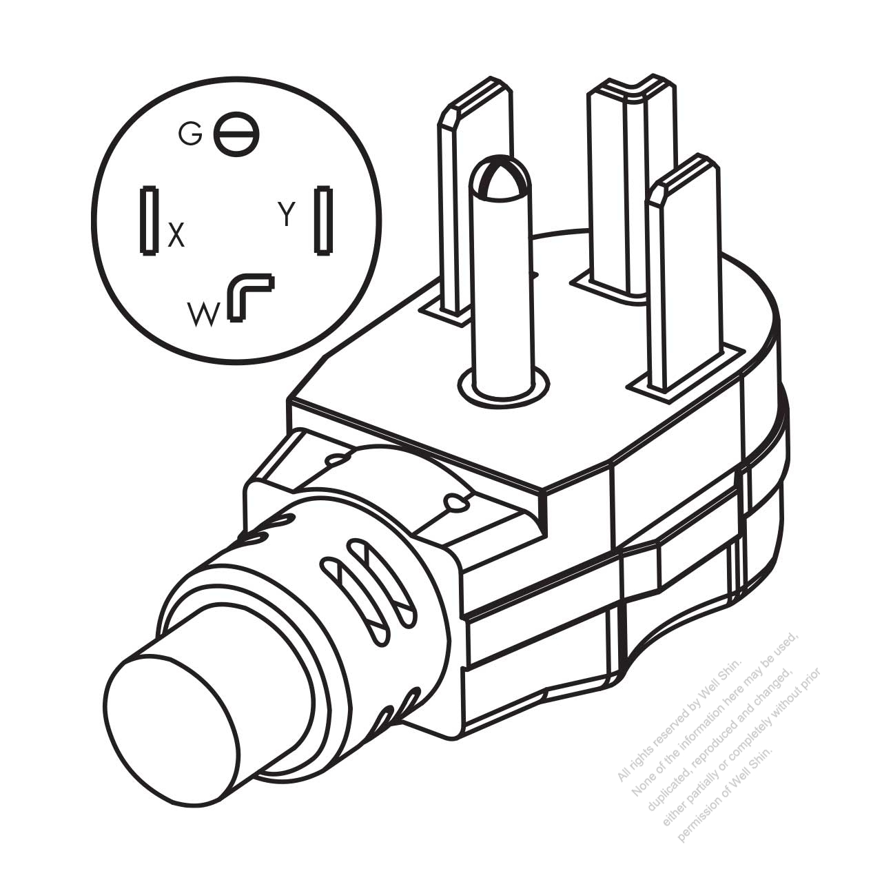 Bda2c356ac2f855b76eHjp 4 wire twist lock plug wiring diagram 5 on 4 wire twist lock plug wiring diagram