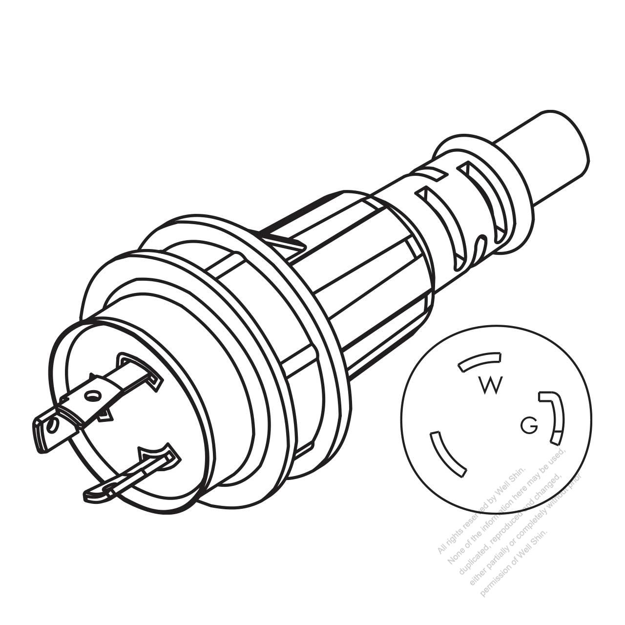 l5 30p wiring ac plug   21 wiring diagram images