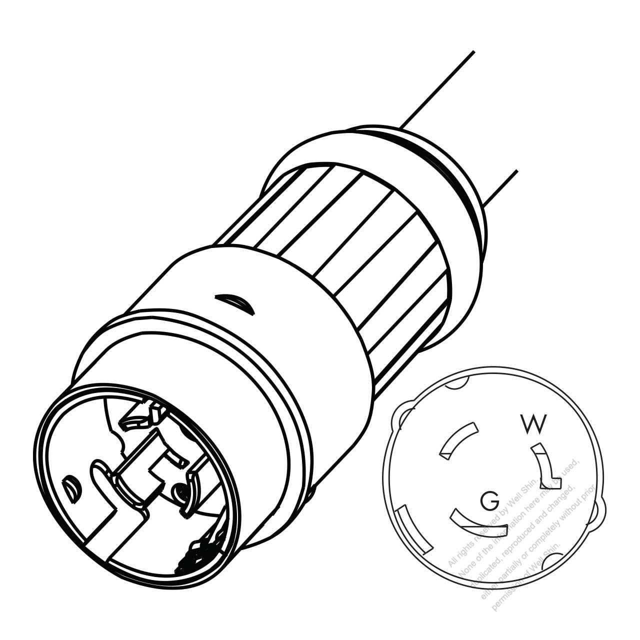 6 50p wiring diagram database NEMA L14-30P Plug nema 6 50p outlet wiring diagram database image of nema 6 50 p plug 6 50p