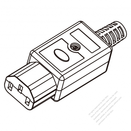 iec plug type b electrical connector types wiring diagram