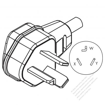 Usacanada Nema 10 30p 3 P 3 Wire Non Grounding Elbow Ac Plug
