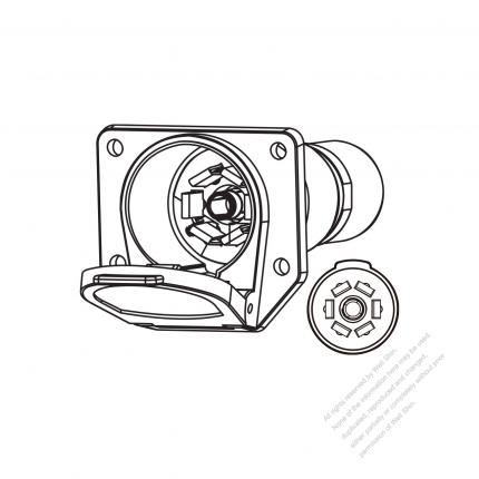 6 Pin Trailer Pin