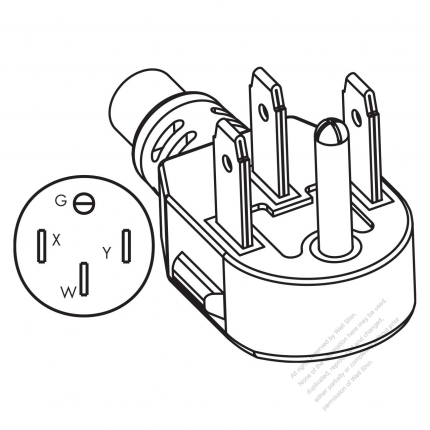 20   230 Volt Receptacle Wiring Diagram in addition Three Prong Plug Diagram further Direct Wire Power Cord moreover 3 Phase Wiring A Receptacle also Wiring A Power Cord. on dryer cord wiring