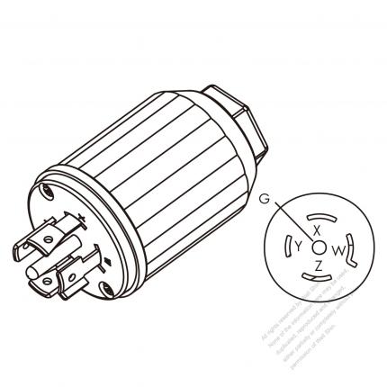 Nema L Receptacle Wiring Diagram on