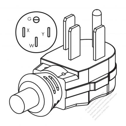 6 50p Plug