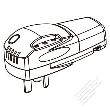China Plug Smart Control 3 Pin Temperature Control 10a 250v