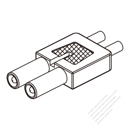 25a 2 Pin Plug Connector