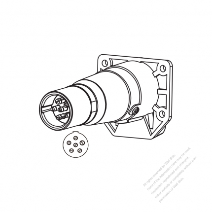 Inline Wire Trailer Connector