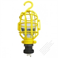 USA 3Pin 7W Working Light NEMA 5-15P Plug Yellow