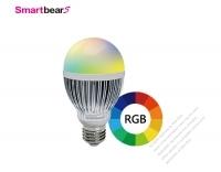 7W 智能RGB調色LED燈泡