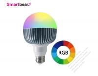 15W 智能RGB調色LED燈泡