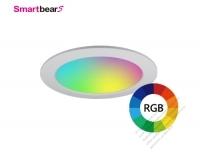 15W 智能RGB調色LED崁燈